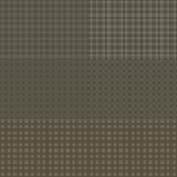 Vektorsatz geometrische nahtlose Muster mit Quadraten und Linien Stockfoto