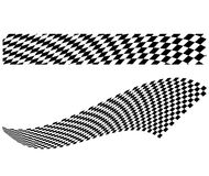 Vektorschackbrädeillustration Royaltyfri Fotografi