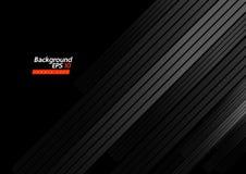Vektorschwarz-Hintergrund Schablone lizenzfreie abbildung