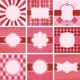 Vektorset av valentin dag. Royaltyfria Bilder