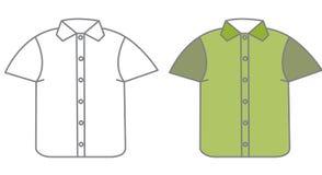 Vektorskjorta Royaltyfri Bild
