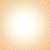 Vektorsonnen-Lichthintergrund Stockfotos