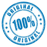 Vektorstempel mit 100 Vorlagen Stockfoto