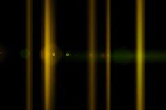 Vektorstern, Sonne mit Objektivaufflackern Stockfotos