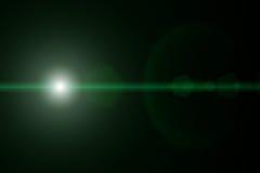 Vektorstjärna, sun med linssignalljuset Fotografering för Bildbyråer