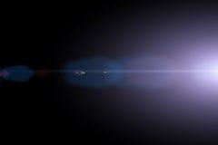 Vektorstjärna, sun med linssignalljuset Arkivbild