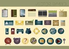 Vektorsymbol Stockfoto