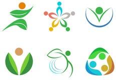 Vektorsymbole, -elemente und -ikonen Lizenzfreies Stockbild