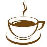 Kaffe kuper Arkivfoto