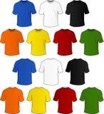 Vektort-shirts Stockbild