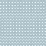 Vektortappningprickar på pastellfärgad blå sömlös modellbakgrund vektor illustrationer