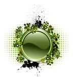 Vektortaste mit populären Elementen Lizenzfreie Stockbilder