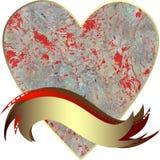 Vektorteckning av hjärtan Royaltyfria Bilder
