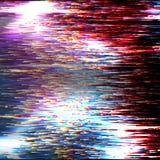 Vektortekniskt felbakgrund Modern distorsion för data för Digital bild Fördärvad mapp Färgrik abstrakt bakgrund för din design ka vektor illustrationer