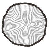 Vektorträdcirklar Arkivbilder