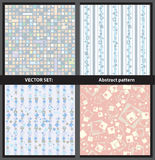 Vektoruppsättning - abstrakt begreppmodeller Arkivfoto