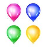 Vektoruppsättning av ballons Royaltyfri Bild