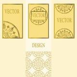 Vektoruppsättning av designbeståndsdelar, etiketter och ramar för att förpacka för lyxiga produkter i tappningstil - ställen och  Fotografering för Bildbyråer