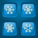 Vektoruppsättning av knappar. Royaltyfria Foton