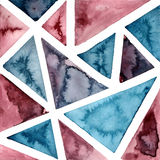 Vektorvattenfärgbakgrund Arkivfoto