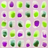 Vektorvattenfärgcirklar Royaltyfri Fotografi