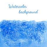 Vektorvattenfärgbakgrund med salt effekt Royaltyfri Foto