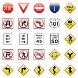 Vektorverkehrszeichen Stockbilder