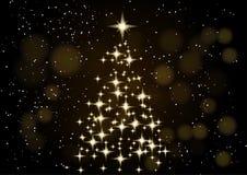 Vektorversion in meinem Portefeuille Abstraktes Hintergrundmuster der weißen Sterne auf dunkelroter Auslegung Neongoldweihnachtsb Lizenzfreie Stockfotos