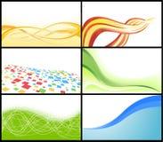 VektorVisitenkarte Lizenzfreie Stockfotos