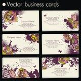 VektorVisitenkarte Stockbilder