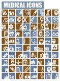 Medicinsk symbol Arkivbild