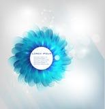 Vektorwasser-Quadratfliege und Kreis 25.02.12 Lizenzfreies Stockbild