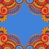 Vektorweinlese Ornamentalhintergrund Stockbilder