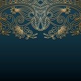Vektorweinlese Ornamentalhintergrund Stockfoto