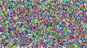 Vektorzusammenfassungshintergrund mit bunten Blättern Mischung von kleinen bunten Blättern stockfoto