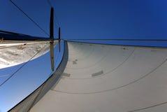 Vela & mastro Fotos de Stock