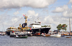 Vela Amsterdam 2010 - Vela-nella parata Fotografie Stock Libere da Diritti
