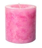Vela aromática coloreada rosa II Imagenes de archivo