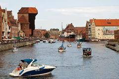 Vela Báltico Gdansk 2009. Imagens de Stock