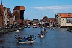 Vela Báltico Gdansk 2009. Imagens de Stock Royalty Free