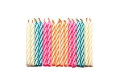 Vela colorida Fotografía de archivo libre de regalías