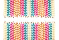 Vela colorida Foto de archivo libre de regalías