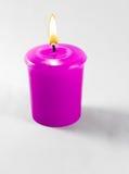 Vela cor-de-rosa Foto de Stock Royalty Free