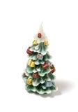 Vela da árvore de Natal Fotografia de Stock Royalty Free