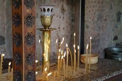 Vela de la iglesia imágenes de archivo libres de regalías