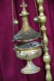 Vela de la iglesia Fotos de archivo