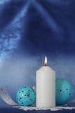 Vela de la Navidad. Imagenes de archivo