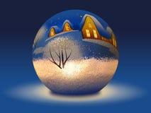 Vela de la Navidad Imagenes de archivo