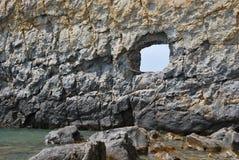 vela de la roca Imagen de archivo libre de regalías