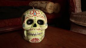 Vela decorativa del cráneo - Camerad Dolly Move